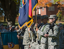 Military color guard image